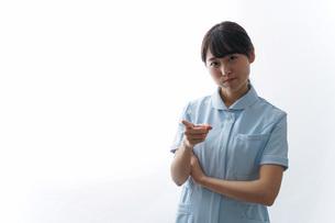 看護師・怒りの写真素材 [FYI04702334]