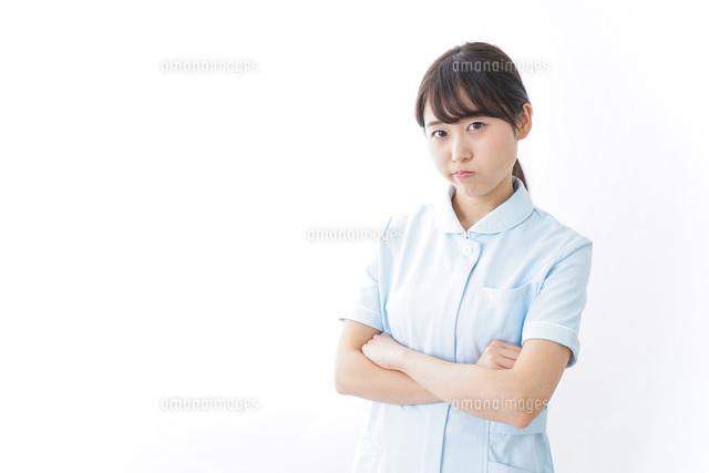 看護師・怒りの写真素材 [FYI04702335]
