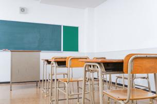 学校の教室イメージの写真素材 [FYI04703065]