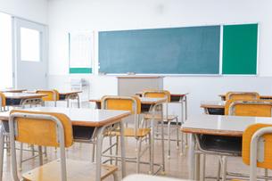 学校の教室イメージの写真素材 [FYI04703067]