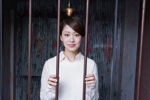 刑務所・逮捕イメージの写真素材 [FYI04703088]