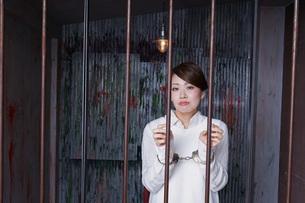 刑務所・逮捕イメージの写真素材 [FYI04703094]