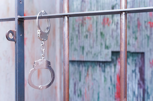 逮捕・刑務所・犯罪イメージの写真素材 [FYI04703099]