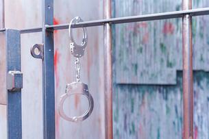 逮捕・刑務所・犯罪イメージの写真素材 [FYI04703103]