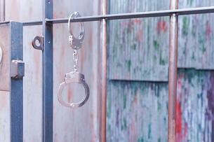 逮捕・刑務所・犯罪イメージの写真素材 [FYI04703105]