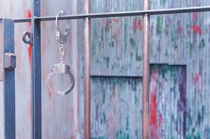 逮捕・刑務所・犯罪イメージの写真素材 [FYI04703115]