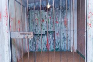 逮捕・刑務所・犯罪イメージの写真素材 [FYI04703118]