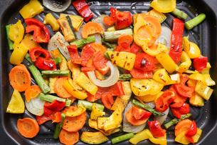 焼き野菜の写真素材 [FYI04703372]