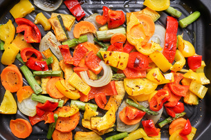焼き野菜の写真素材 [FYI04703377]