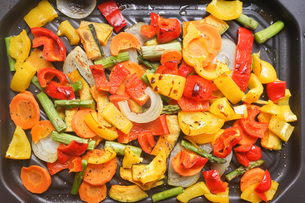 焼き野菜の写真素材 [FYI04703379]