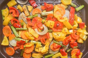 焼き野菜の写真素材 [FYI04703380]