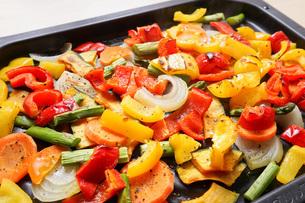 焼き野菜の写真素材 [FYI04703382]