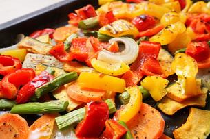 焼き野菜の写真素材 [FYI04703384]