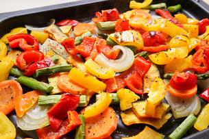 焼き野菜の写真素材 [FYI04703387]
