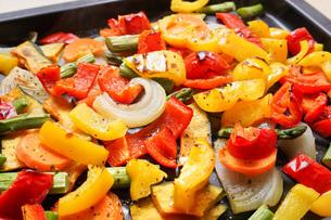 焼き野菜の写真素材 [FYI04703389]