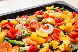 焼き野菜の写真素材 [FYI04703391]