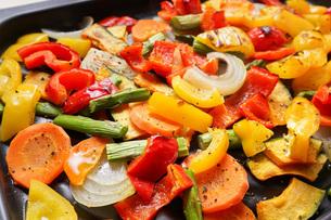 焼き野菜の写真素材 [FYI04703394]