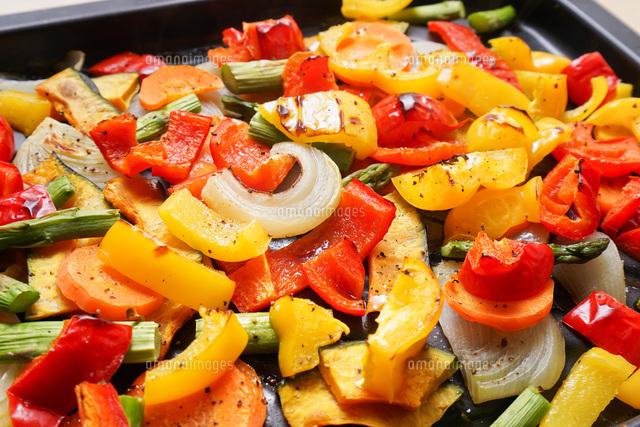 焼き野菜の写真素材 [FYI04703395]