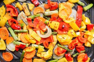 焼き野菜の写真素材 [FYI04703396]