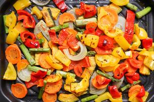 焼き野菜の写真素材 [FYI04703397]