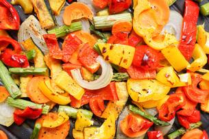 焼き野菜の写真素材 [FYI04703398]