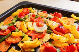 焼き野菜の写真素材 [FYI04703399]