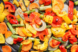 焼き野菜の写真素材 [FYI04703400]