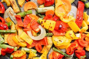 焼き野菜の写真素材 [FYI04703405]