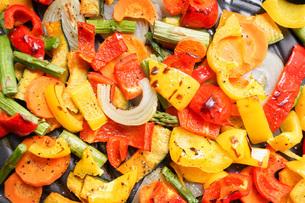 焼き野菜の写真素材 [FYI04703407]