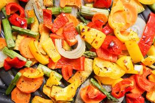 焼き野菜の写真素材 [FYI04703409]