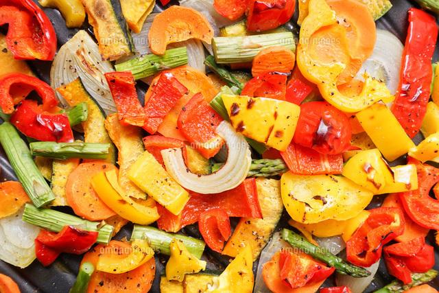 焼き野菜の写真素材 [FYI04703410]