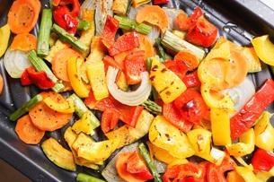 焼き野菜の写真素材 [FYI04703411]