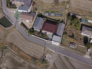 日本の田園風景ドローン撮影・淡路島の写真素材 [FYI04703578]