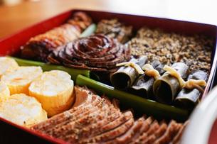 おせち料理の写真素材 [FYI04703599]