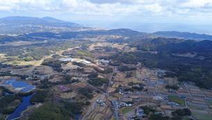 日本の田舎風景・ドローン撮影の写真素材 [FYI04703620]