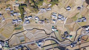 日本の田舎風景・ドローン撮影の写真素材 [FYI04703631]