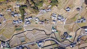 日本の田舎風景・ドローン撮影の写真素材 [FYI04703634]