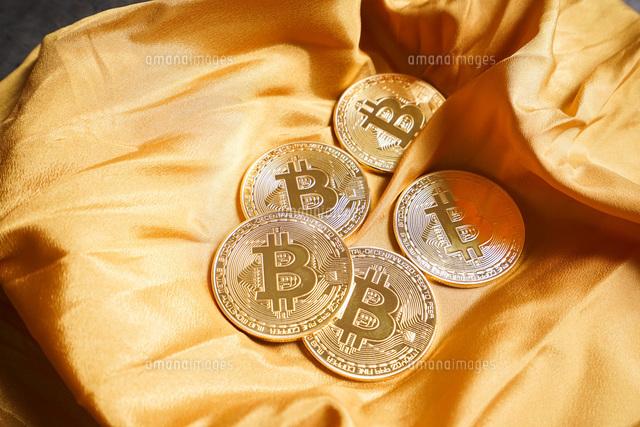 仮想通貨・ビットコインイメージの写真素材 [FYI04703694]