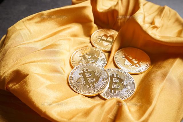 仮想通貨・ビットコインイメージの写真素材 [FYI04703701]