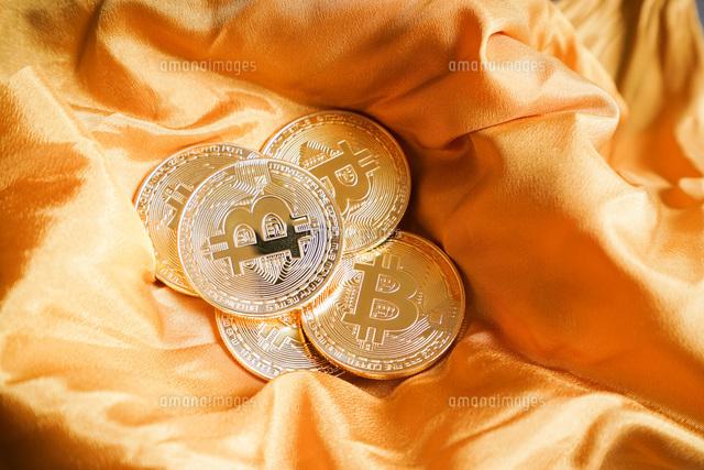 仮想通貨・ビットコインイメージの写真素材 [FYI04703711]