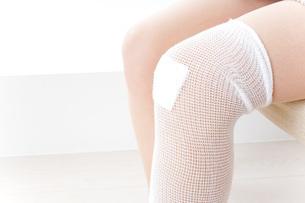 足のケガの写真素材 [FYI04703716]