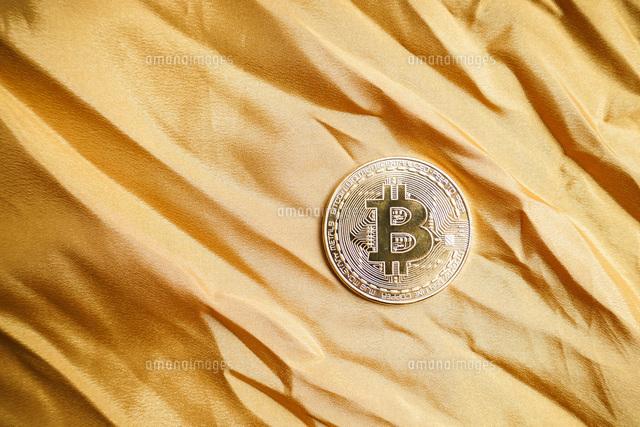 仮想通貨・ビットコインイメージの写真素材 [FYI04703720]