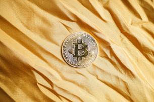 仮想通貨・ビットコインイメージの写真素材 [FYI04703721]