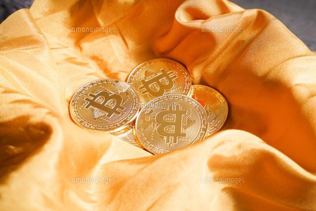仮想通貨・ビットコインイメージの写真素材 [FYI04703724]