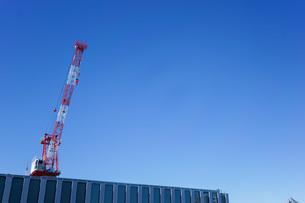 タワークレーン・建設ラッシュの写真素材 [FYI04704063]