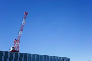 タワークレーン・建設ラッシュの写真素材 [FYI04704080]