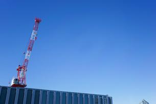 タワークレーン・建設ラッシュの写真素材 [FYI04704081]