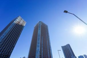 高層ビル・タワーマンションの写真素材 [FYI04704188]