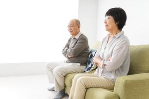 夫婦喧嘩・熟年離婚の写真素材 [FYI04704732]