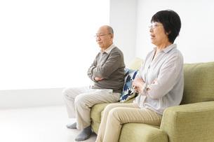 夫婦喧嘩・熟年離婚の写真素材 [FYI04704734]